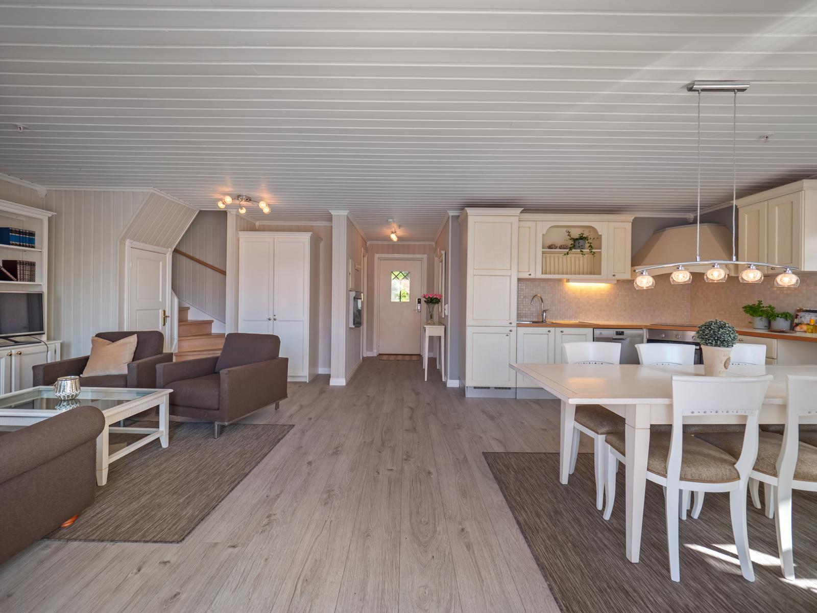 Hytta overleveres ny eier møblert og utstyrt