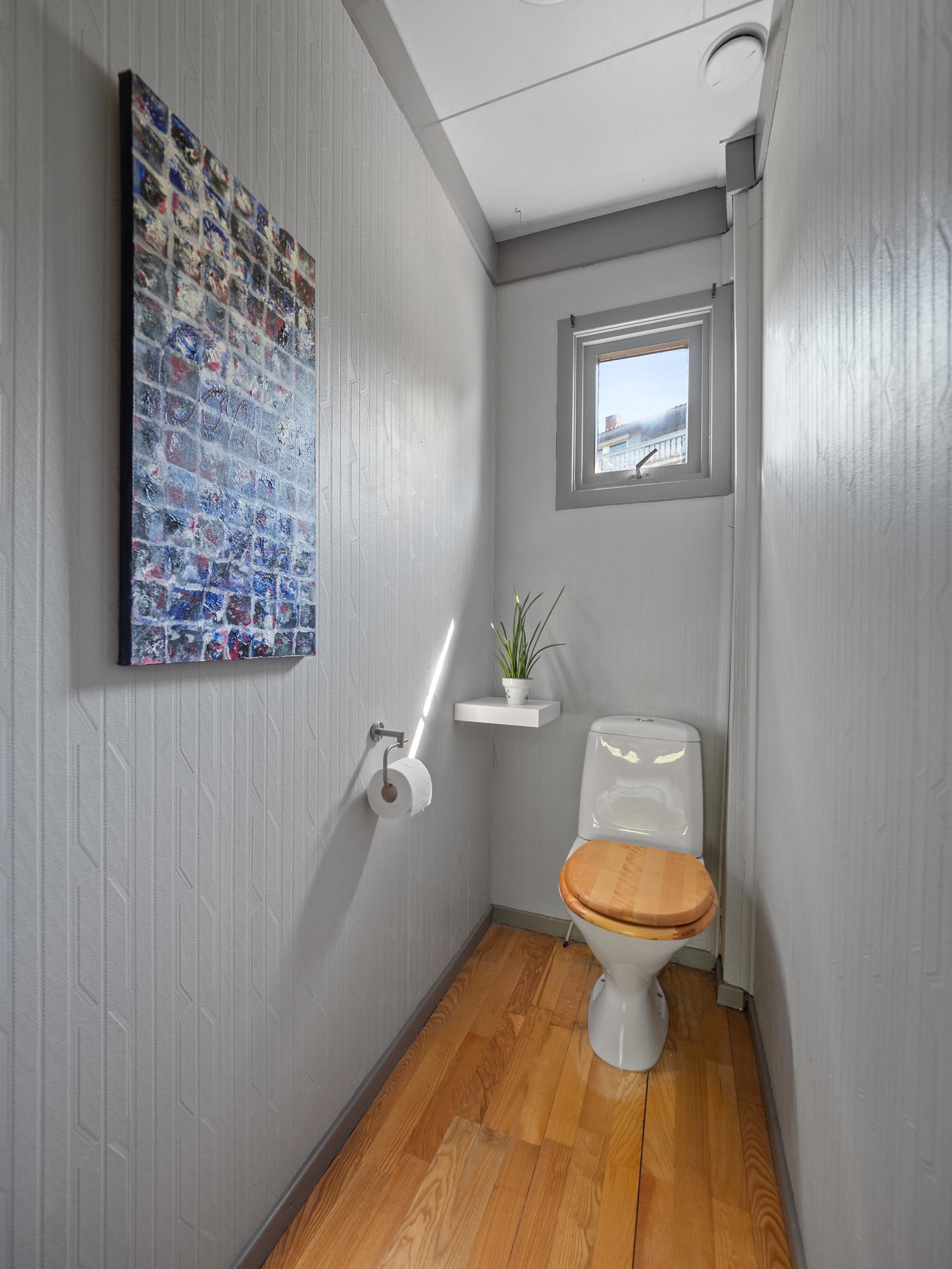 Toalettrom 1. etg.