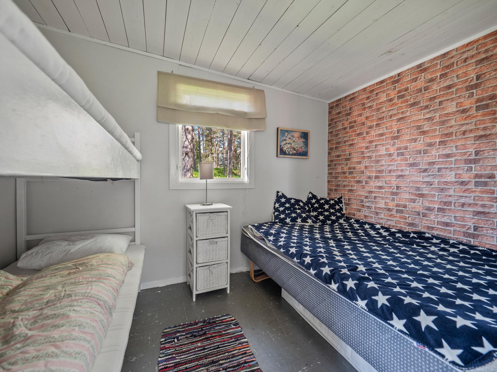 Soverom i anneks med god plass for overnattingsgjester