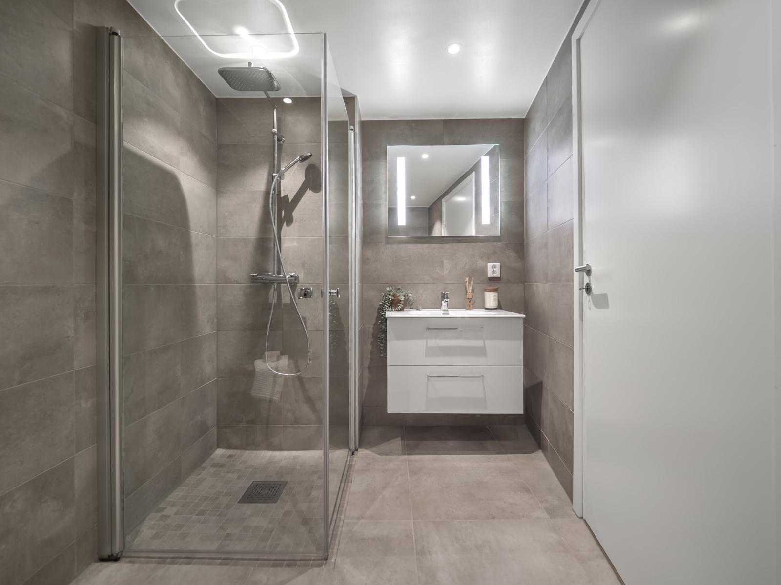 Hovedsoverommet har tilgang til eget bad