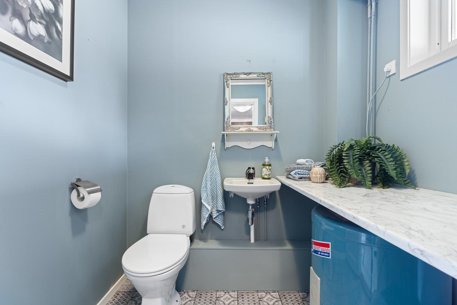 Toalettrom i 1.etg