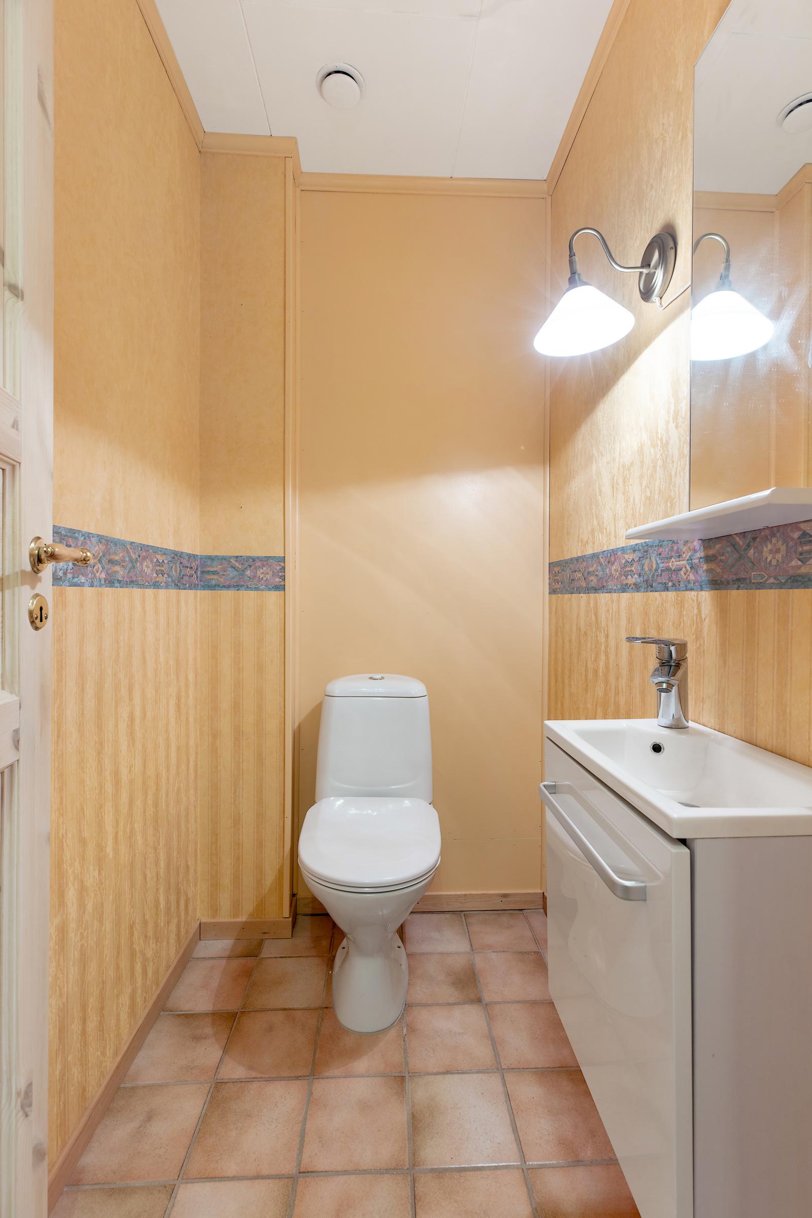 Separat wc - Hovedetasje