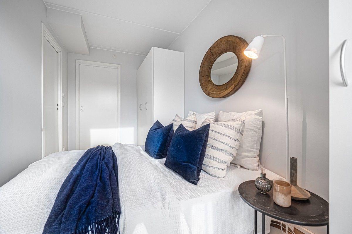 Soverommet har plass for dobbeltseng - Direkte adkomst til bad