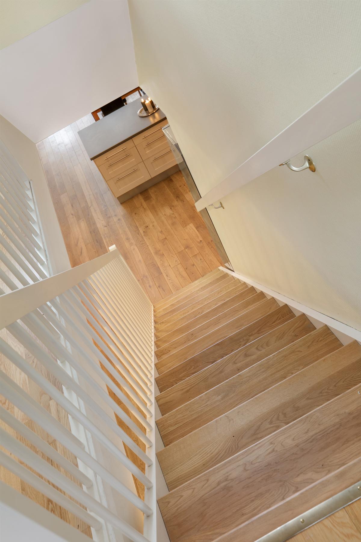 Tette trapper mellom etasjene