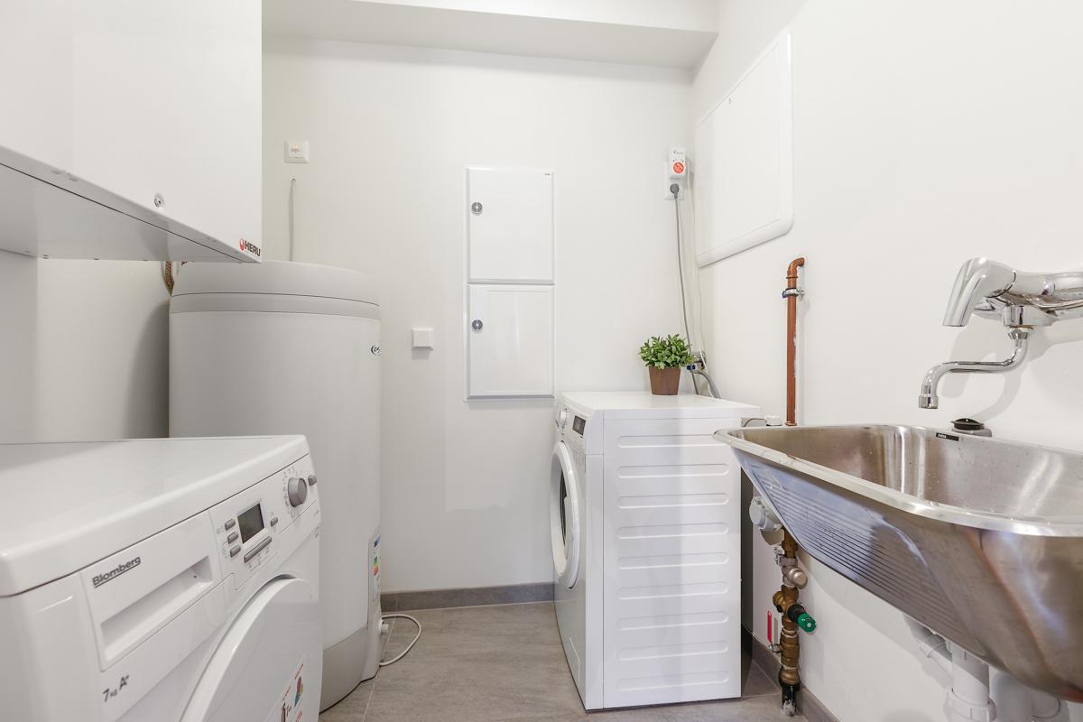 Praktisk med eget vaskerom