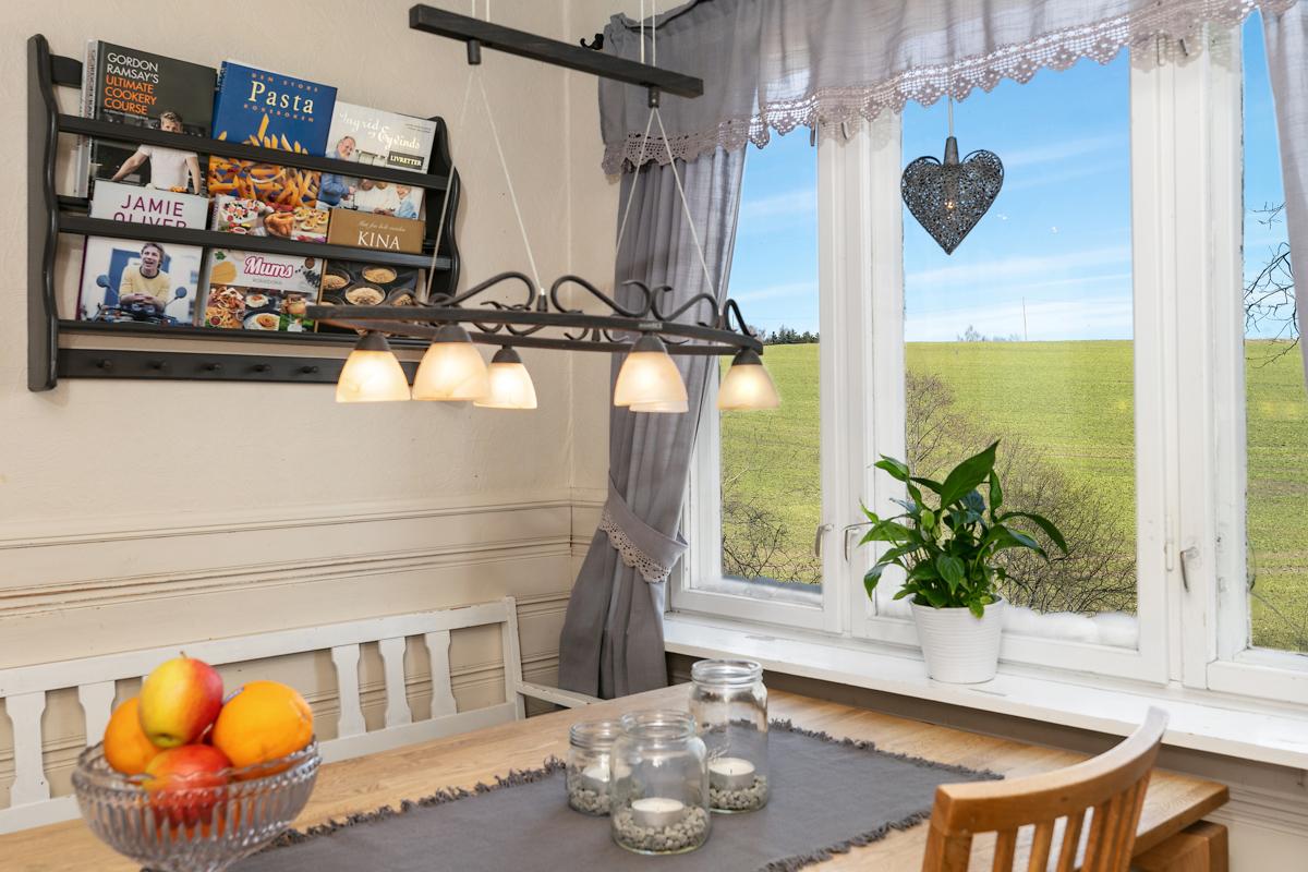 Spiseplass på kjøkken