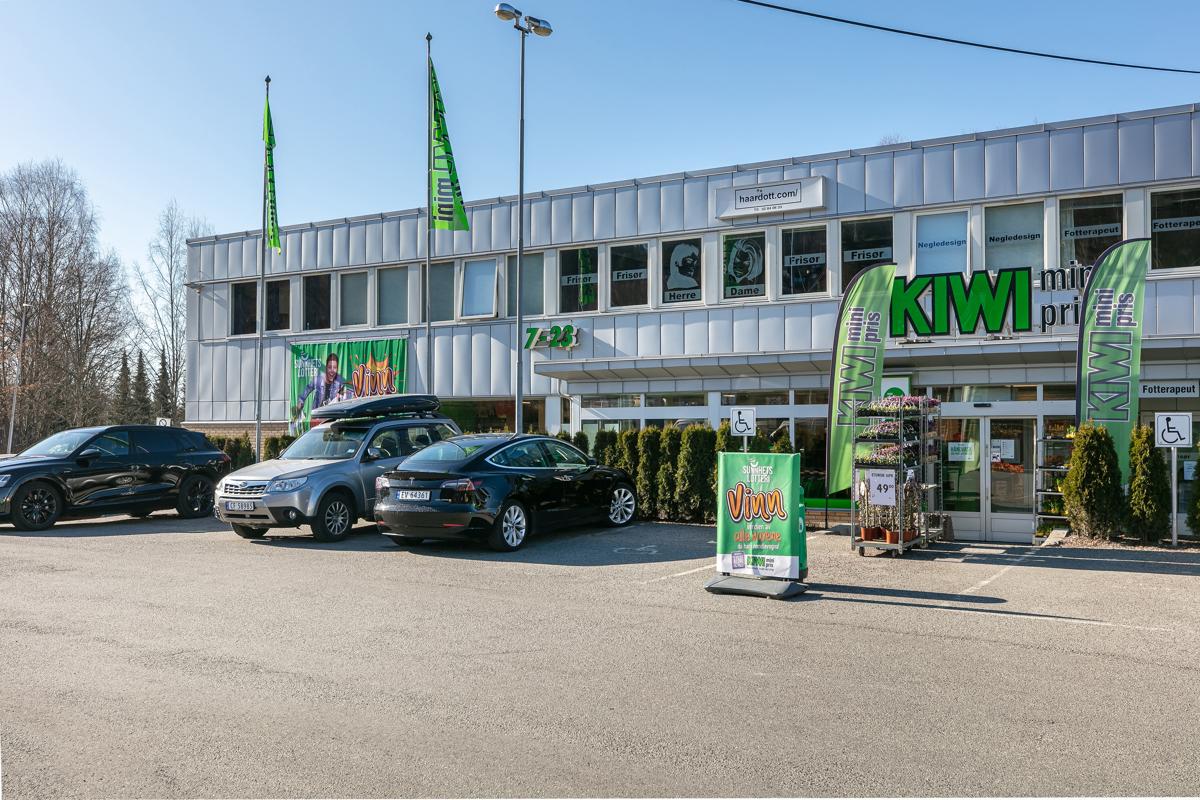 Kiwibutikk på Gullaug