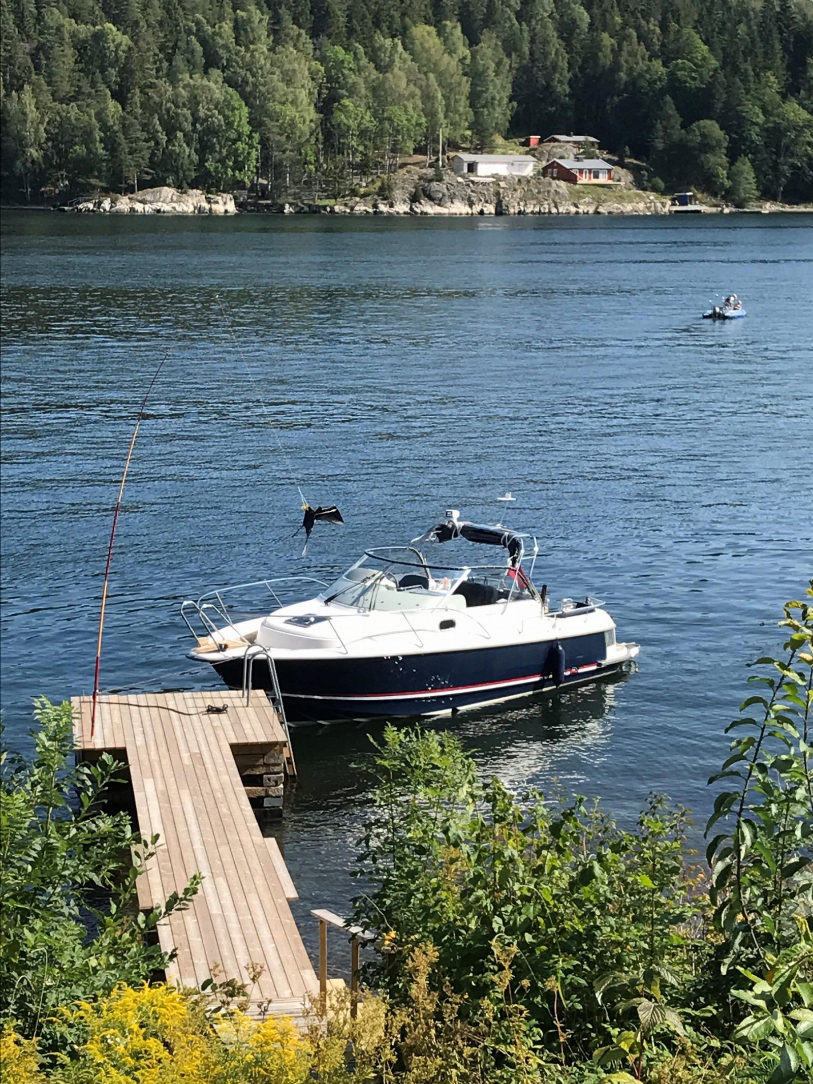 Båten på brygga