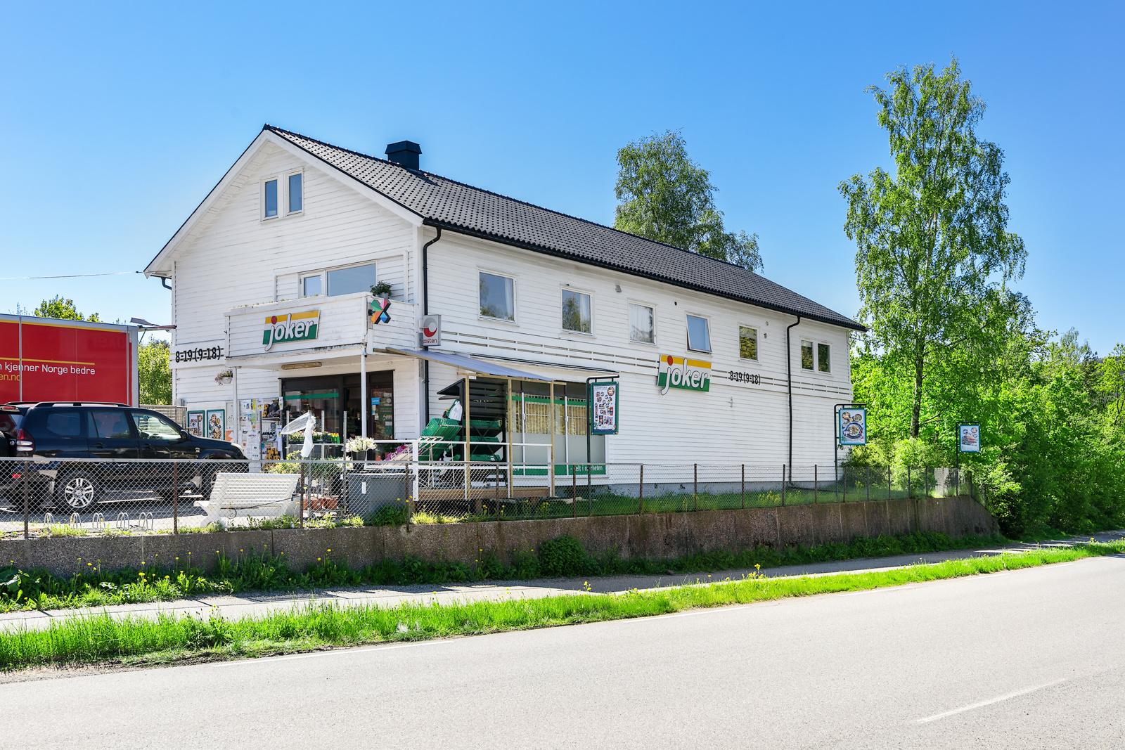 Jokerbutikk i Nærsnes sentrum