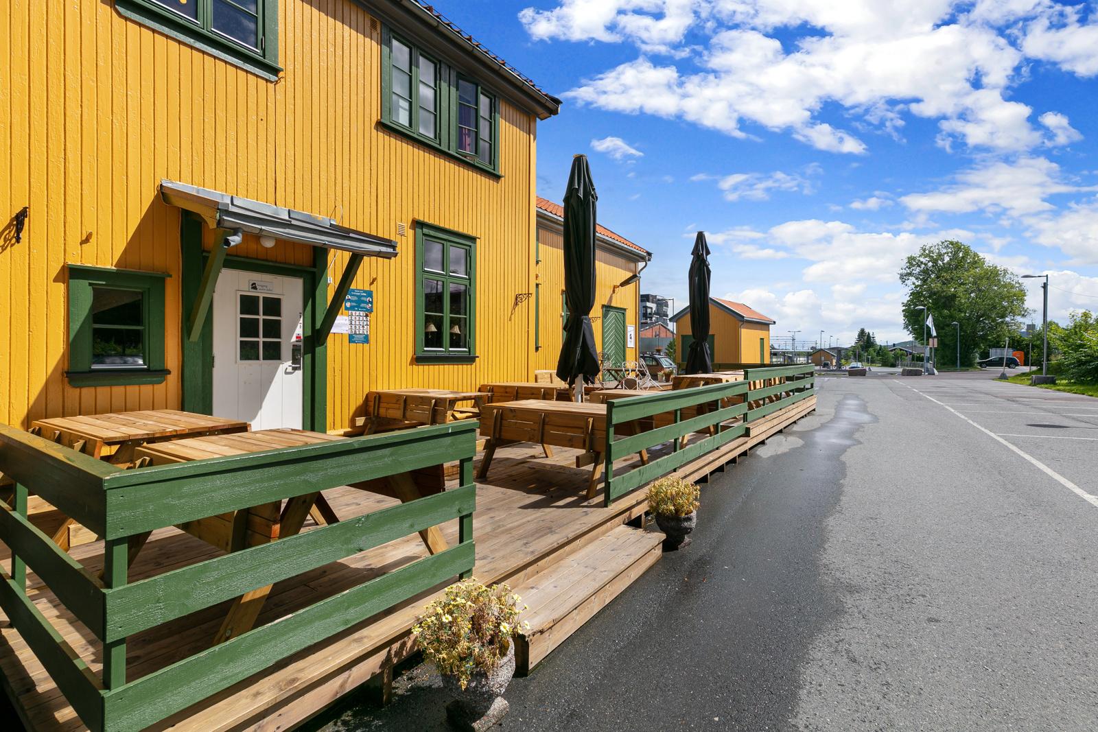 Cafe' på Spikkestad stasjon