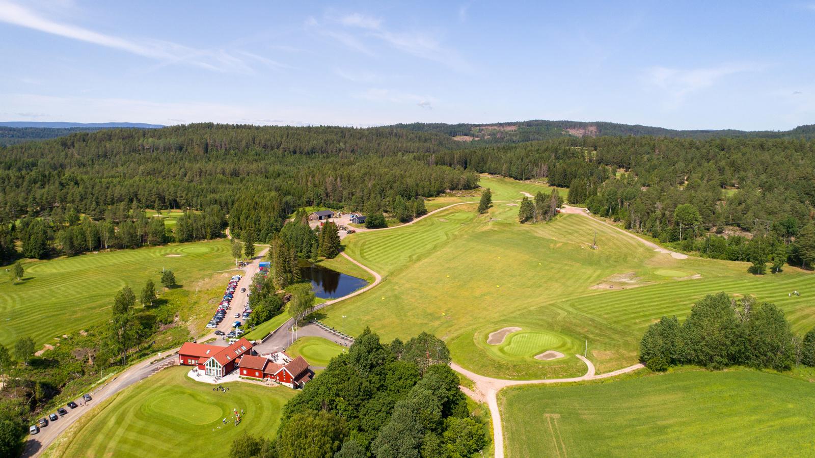 Golfbanen på Kjekstad