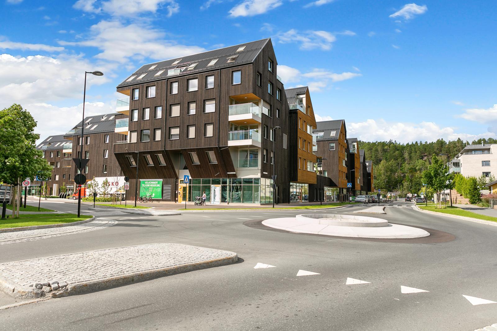 Nye Heggedal sentrum