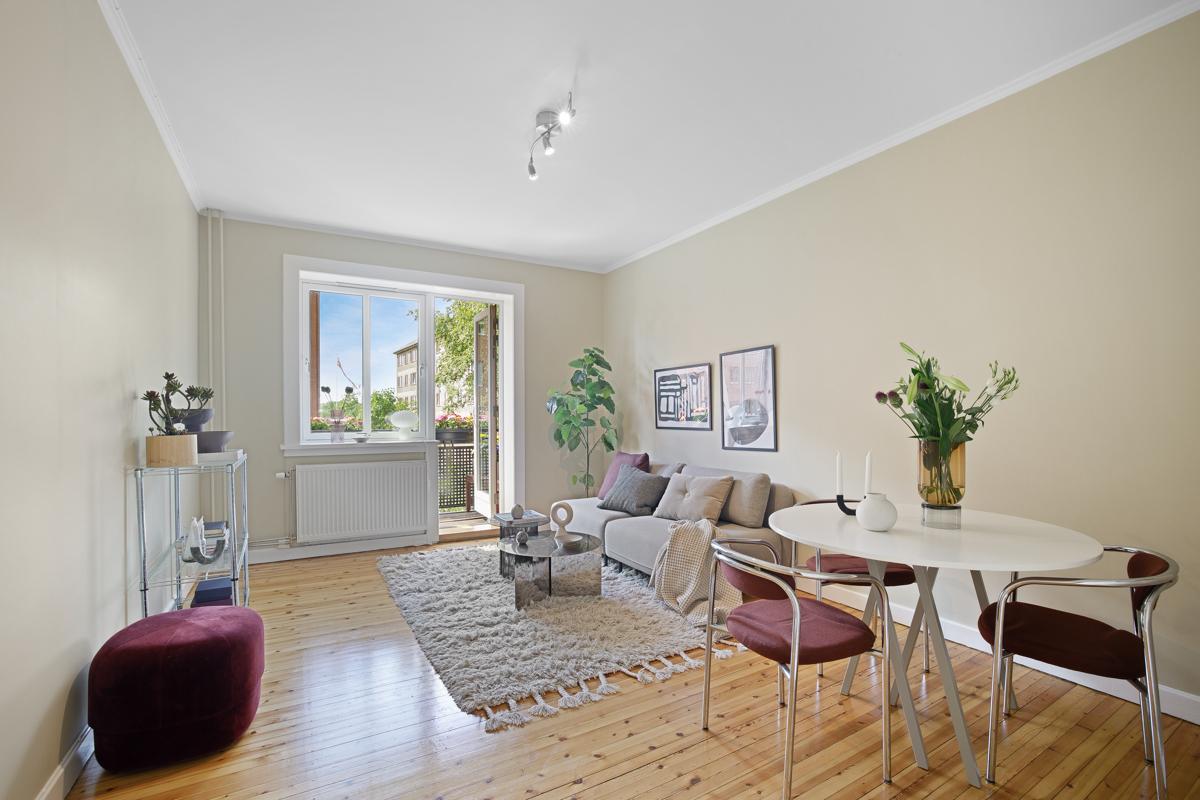 Velkommen til Bentsebrugata 16 C og denne nydelige 2-roms leiligheten beliggende sentralt til på populære Torshov.