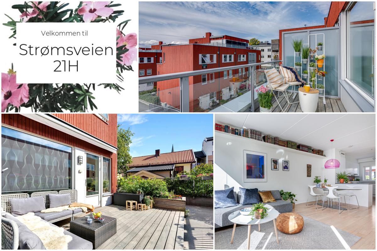 Velkommen til Strømsveien 21H, presentert av Schala & Partners avd. Bjørvika / Gamle Oslo ved Mats Ergo, tlf.91 56 60 81.