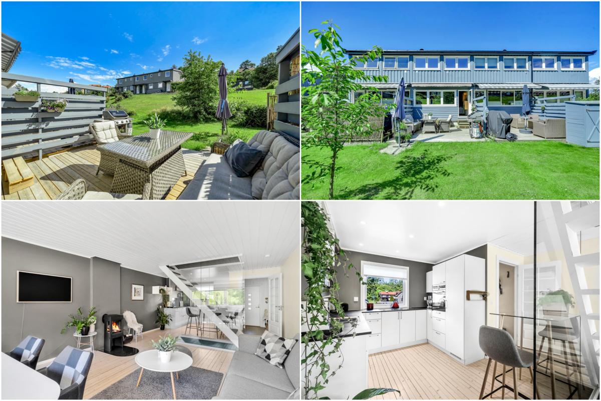 Vidar Tangstad (452 16 222) ved Schala & Partners har gleden av å vise og presentere dette flotte rekkehuset i Rugdefaret 6C!