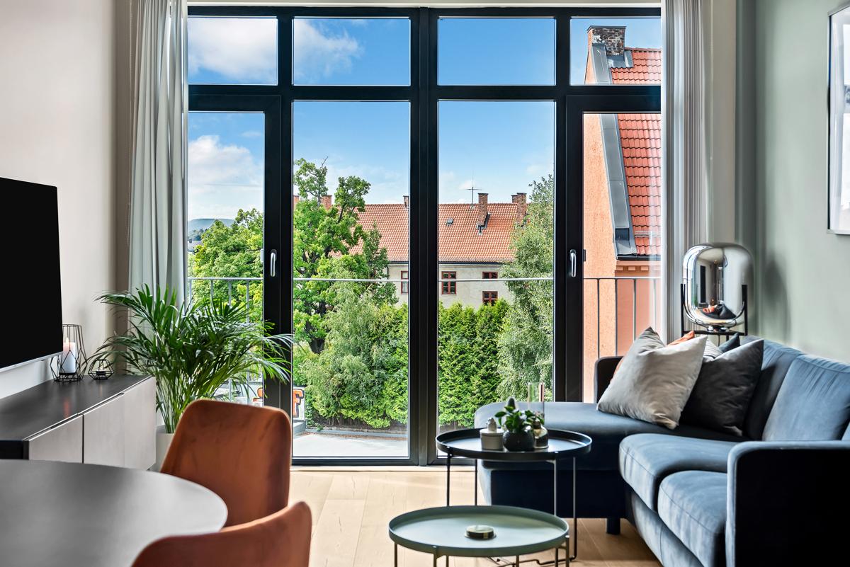 Torfinn Sørvang (977 59 812) ved Schala & Partners har gleden av å presentere denne lekre leiligheten i Trondheimsveien 139A!
