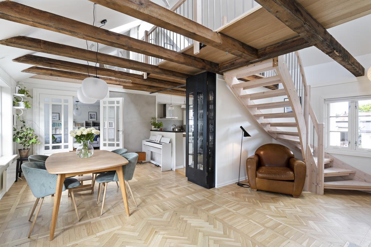 Kjerstin Falkum (922 04 707) ved Schala & Partners har gleden av å presentere denne fantastiske boligen i Normannsgata 31A!
